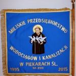 Sztandar MPWiK Piekary Śl.