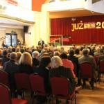 Prezes Wojciech Jasak wita przybyłych gości