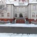 Odrestaurowany budynek MPWiK Piekary Śl.