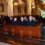 Uczestnicy mszy świętej