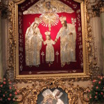 Święta rodzina w kaliskim sanktuarium