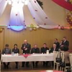 Prezes Krzysztof Broż wita gości