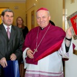 Dar dla Ks. Bpa Edwarda - Obraz MB Licheńskiej , przywieziony z tegorocznej pielgrzymki