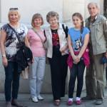 Pielgrzymi z Katowic i Rybnika