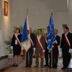 Poczty sztandarowe: Rady Krajowej naszego duszpasterstwa i ZWiK Szczecin