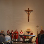 Celebransi Mszy Świętej w Kościele pw. św. Mikołaja w Szczecinie