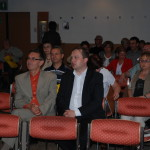 Gospodarze Konferencji: Dyrektor Ryszard Wójcik i Prezes Beniamin Chochulski