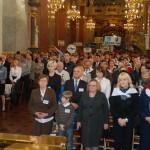 Pielgrzymi w Bazylice Jasnogórskiej