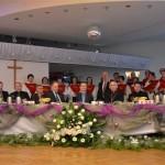 Kolęda w wykonaniu chóru i wszystkich uczestników spotkania
