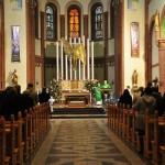 W kościele św. Michała Archanioła w Michałkowicach