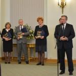 Prezes Józef Natanek, Prezes Marek Bąbała i Prezydent RP Bronisław Komorowski