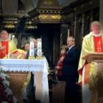 Podczas mszy w Kaliszu