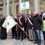 Pielgrzymi z Siedlec z Krajowym Duszpasterzem.