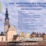 Plakat XXIV Pielgrzymki