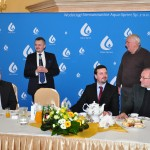 Prezes Piotr Komraus składa podziękowanie Panu Ostrowskiemu.