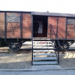 Wagon w jakim deportowano ludność z do ZSRS.
