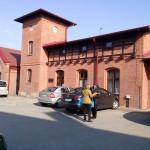 Muzeum w budynku starego zrewitalizowanego dworca kolejowego w Radzionkowie.
