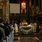 Msza św. u św. Józefa w Kaliszu