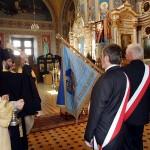 Poświęcenie sztandaru w cerkwi