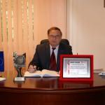 Prezes MPWiK w Piekarach Śl. Janusz Dulik