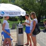 Dystrybutory wody - Park Hallera