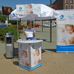 Dystrybutory wody - Plac Wolnosci