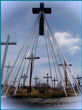 Krzyż Duszpasterstwa w Świętej Wodzie