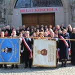 Wszyscy uczestnicy spotkania po Mszy św.