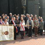 Wspólne zdjęcie przed kościołem św, Franciszka w Zabrzu