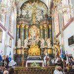Podczas Mszy św. w bazylice jasnogórskiej