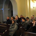 Uczestnicy Mszy Św. W drugiej ławce od lewej Zarząd PWiK Gliwice